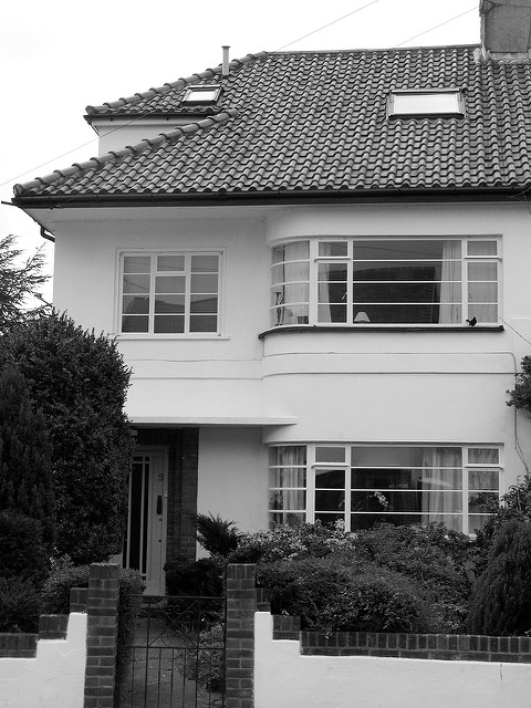 wit huis anno 1930