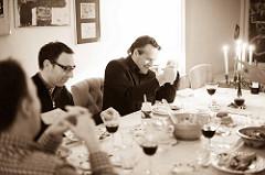 sociale contacten tijdens de maaltijd